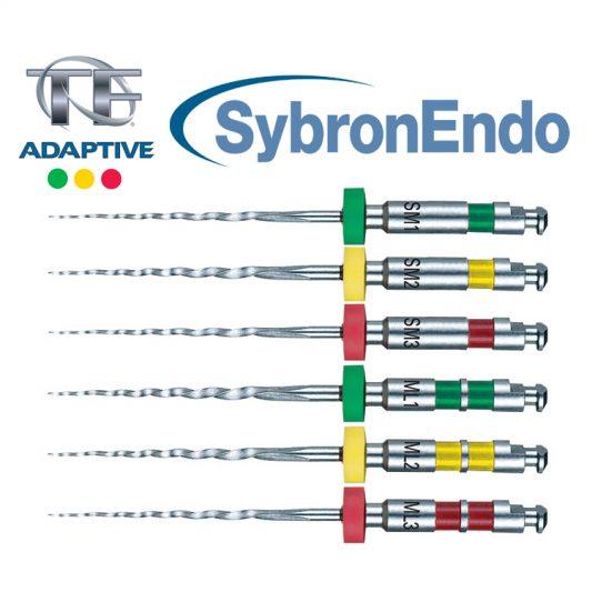 limas rotatórias tf adaptive sybron endo