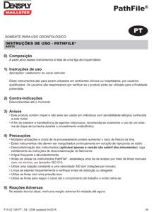 Limas PathFile - Instruções