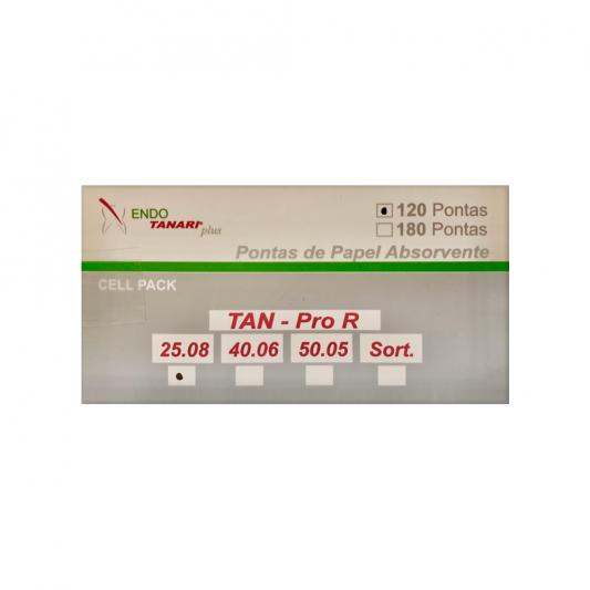 Pontas de papel pro R compativel com o sistema Reciproc – Tanari