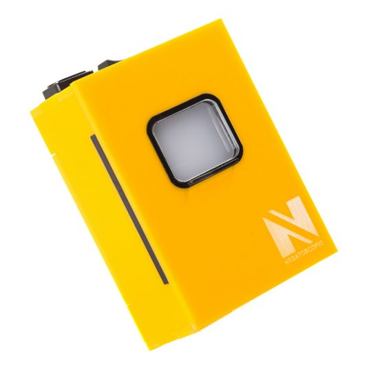 Negatoscopio periapical amarelo