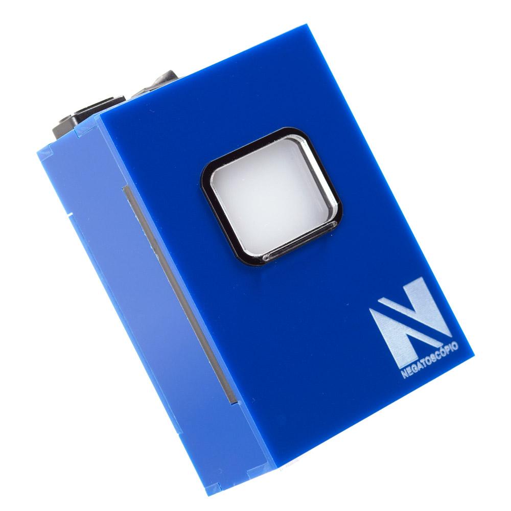 Negatoscopio periapical azul royal