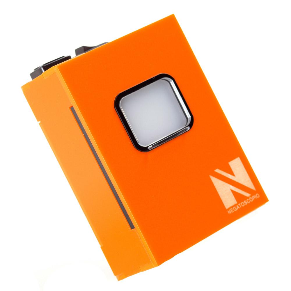 Negatoscopio periapical laranja