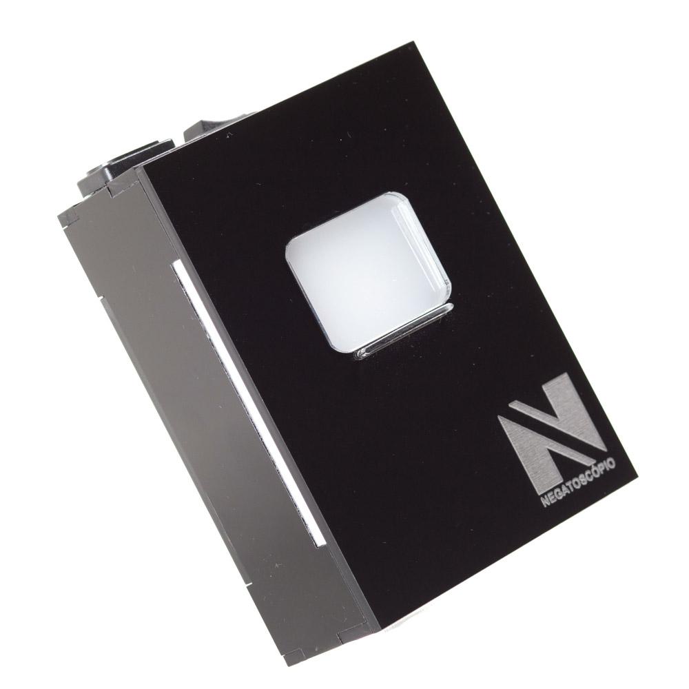 Negatoscopio periapical preto