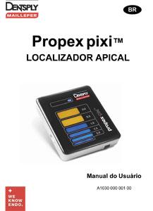 Localizador Propex Pixi - Manual