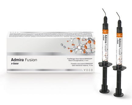 Admira Fusion x-base Material de restauração de ORMOCER® nano-híbrido fluido para bases, 4 mm
