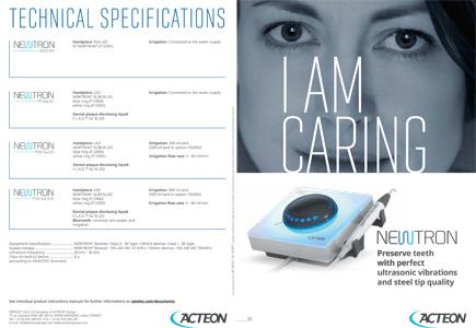 Ultrassom Newtron - Brochura