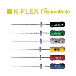 limas manuais k flex file sybron endo