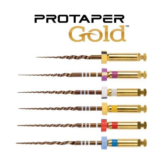 limas rotatorias protaper gold dentsply