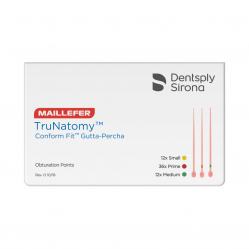 cones de guta-percha trunatomy dentsply maillefer