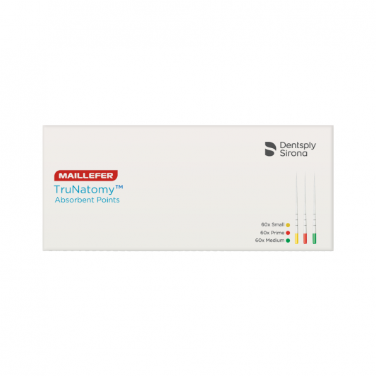 pontas de papel trunatomy dentsply maillefer